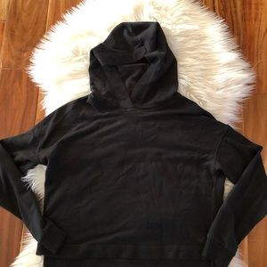 ALO Cropped Hoodie Size Small